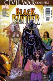 Black Panther #18 Wedding NM (2008) Civil War Tie In Marvel Knights comic book